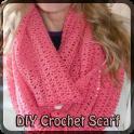 DIY Crochet Scarf.