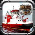 Feuer-Boot-Simulator 3D