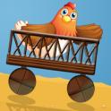 Chicken Kart Racing Flock