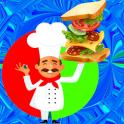 Sandwich Chef Fun Virtual Game