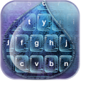 Rain Glass Keyboard Designs