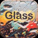 Glass Rain Theme rain drop