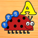 Kids Insect Letters Numbers