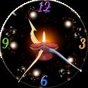 Diwali Clock Live Wallpaper