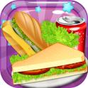 sandwich maker baking fun games