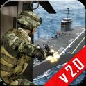 Navy Gunship Shooting 3D Game