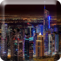 Dubai Night Live Wallpaper PRO