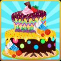 Ano Novo decoração do bolo