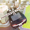 Free flying police car games