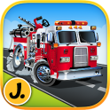 Fire Engines & Trucks : Logic Game for Boys