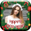 2018 Greeting New Year Frame & Greeting Cards NY