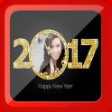New Year Photo Frame 2017