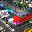 Vegas ferrocarril tráfico auto