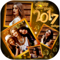 Happy New Year Photo Collage 2019