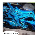 3D Graffiti Painting