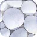 White Pebble Live Wallpaper