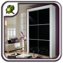 Black Wardrobe Closet Design