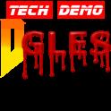 D-GLES Demo (portage de Doom)