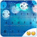 Glass Water Emoji Keyboard