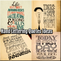 Hand Lettering Quotes Ideas