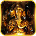 elephant theme Golden Buddha
