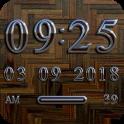 PARIS Digital Clock Widget