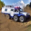 8 Wheeler Russian Truck