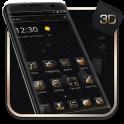 Luxury Golden 3D Black Tech