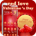 Red Valentine 3D love theme