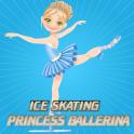 Ice Skating Princess Ballerina