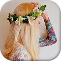 Flower Crown Hairstyle Editor