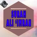 Surah Ali Imran Full Audio MP3
