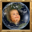 Earth Photo Frame