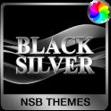 Black Silver Theme for Xperia