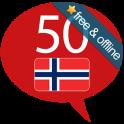 Aprenda Norueguês - 50 langu