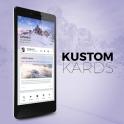 Kustom Kards Theme for KLWP