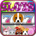 Puppy Slots - Happy Pet - Vegas Slot Machine Games