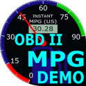 OBDII Car MPG Demo (Gasoline)