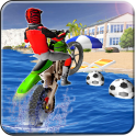 Beach Moto Bike Stunts