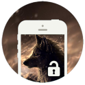 Brown Wolf Screen Lock NEW