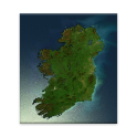 Ireland from Space. (admob)