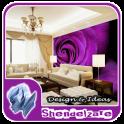 Interior Living Room Wallpaper