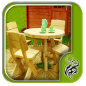 Wooden Garden Features Design