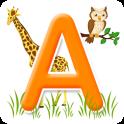 Живая азбука: учим буквы звуки