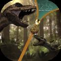 Dinosaur Zipper Lock Screen