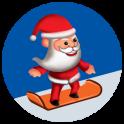 Santa Skater Jump