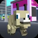 Blocky City Goat