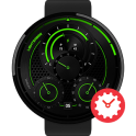 Lightsaber watchface by Pluto