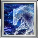 Crystal Horse Live Wallpaper