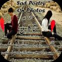 Sad Poetry Frames On Photos